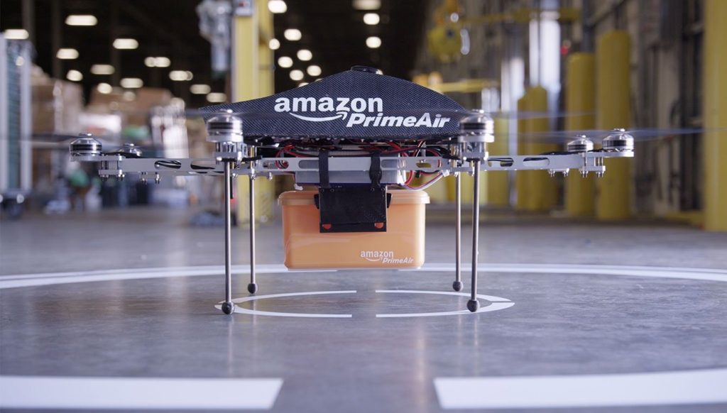 Amazon Prime Air is trailing drones for retail orders