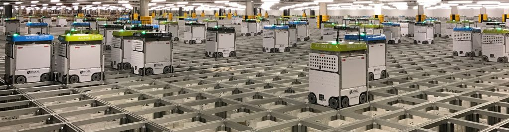Opodo has got a massive robotic warehouse