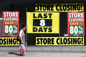 Stores closing - retail